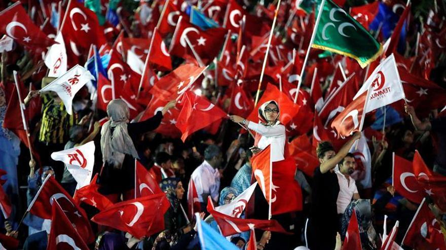 La policía turca dispersa una protesta en Ankara y detiene a 47 personas