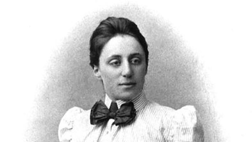 Retrato de Emmy Noether