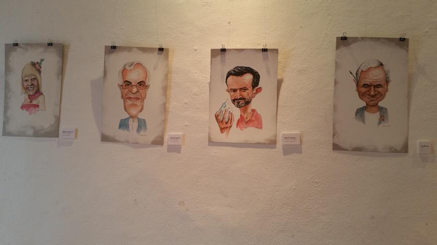 Rosario Valcárcel, Luis León Barreto, Antonio Tabares y Luis Morera. Foto: LUZ RODRÍGUEZ.