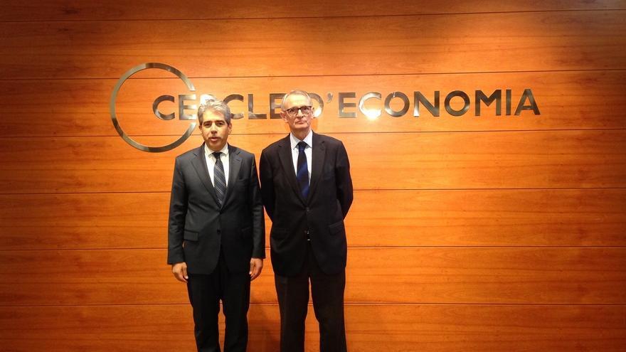 """Homs (DL) dice en el Círculo de Economía que pedir más recursos al Estado es una vía """"agotada"""""""