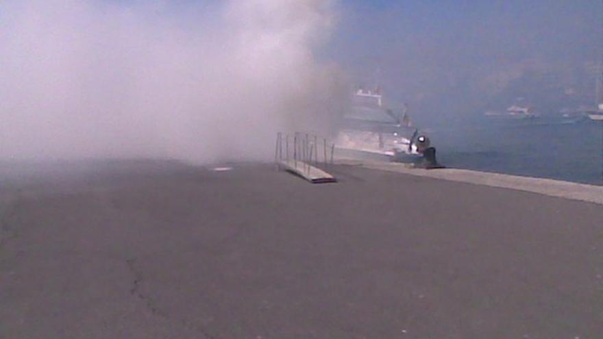 Del incendio de la embarcación #7