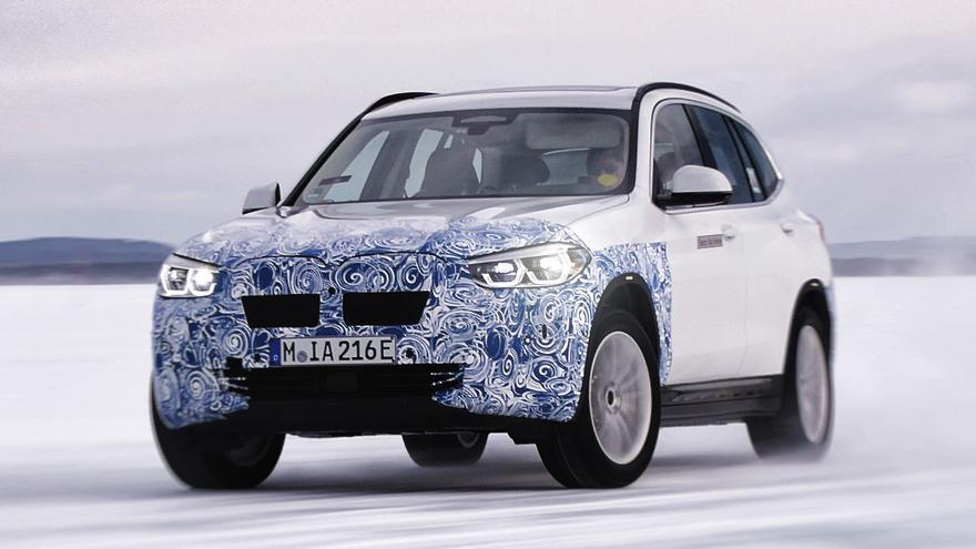 BMW iX3.