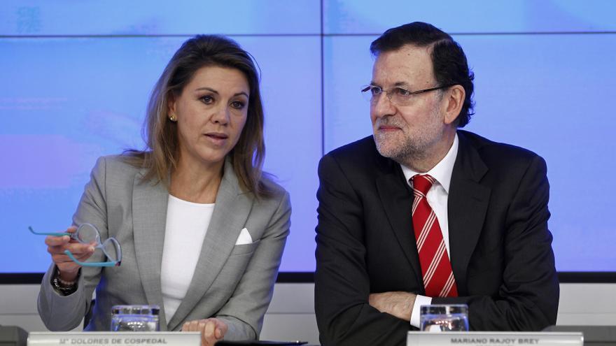 Rajoy asegura, tras criticar Aguirre el acto de Durango, que hay que respetar el Estado de Derecho