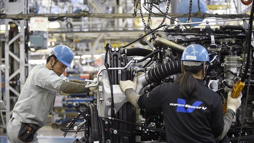 La producción de vehículos en Japón cayó un 0,5 por ciento en octubre