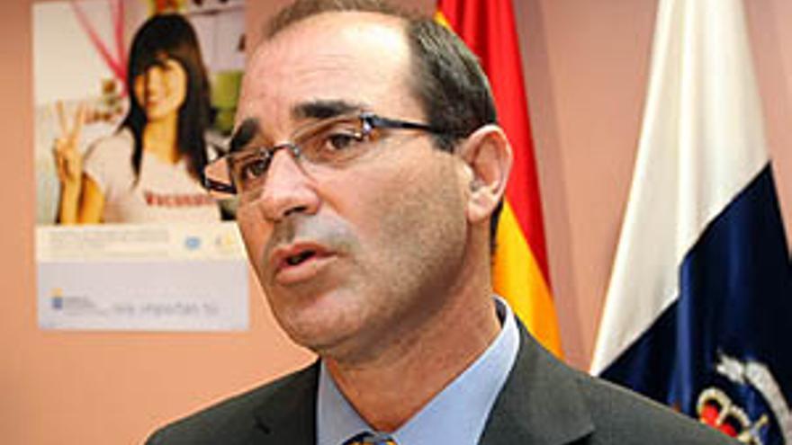 El director del Servicio Canario de Salud, Guillermo Martinón.