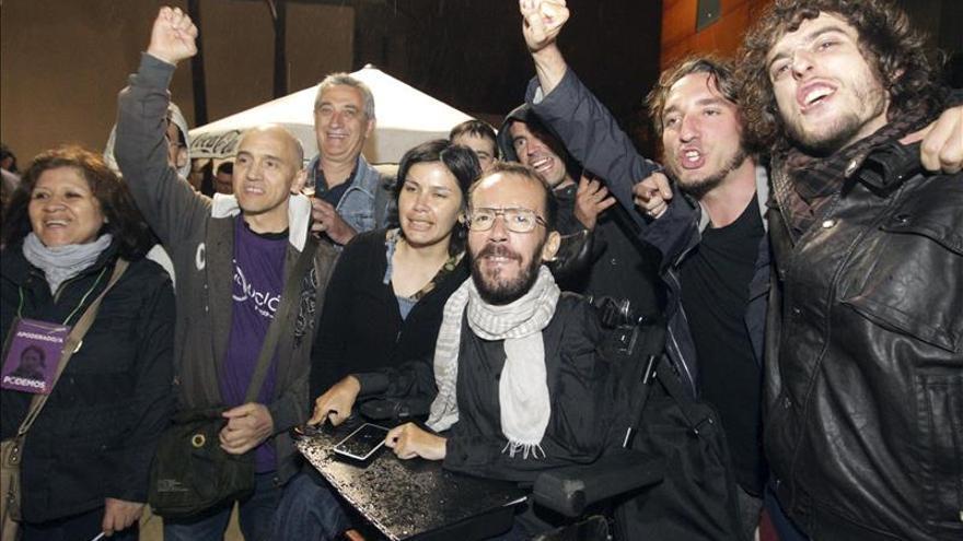 """Echenique aboga por un frente popular porque confluir está en el """"ADN"""" de Podemos"""