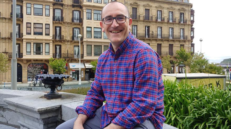 Mikel Iturria editor del libro 'Javier Ortiz, talento y oficio de un periodista'