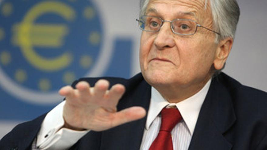 El presidente del BCE, Jean-Claude Trichet