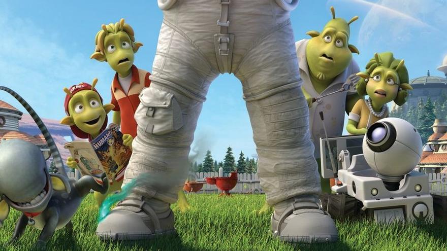 Un fotograma de la película de animación 'Planet 51' / Foto: Ilion Animation Studios.
