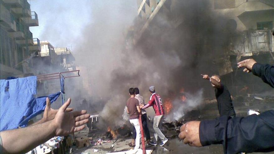 Al menos 20 muertos y 60 heridos en dos atentados con coche bomba en Bagdad