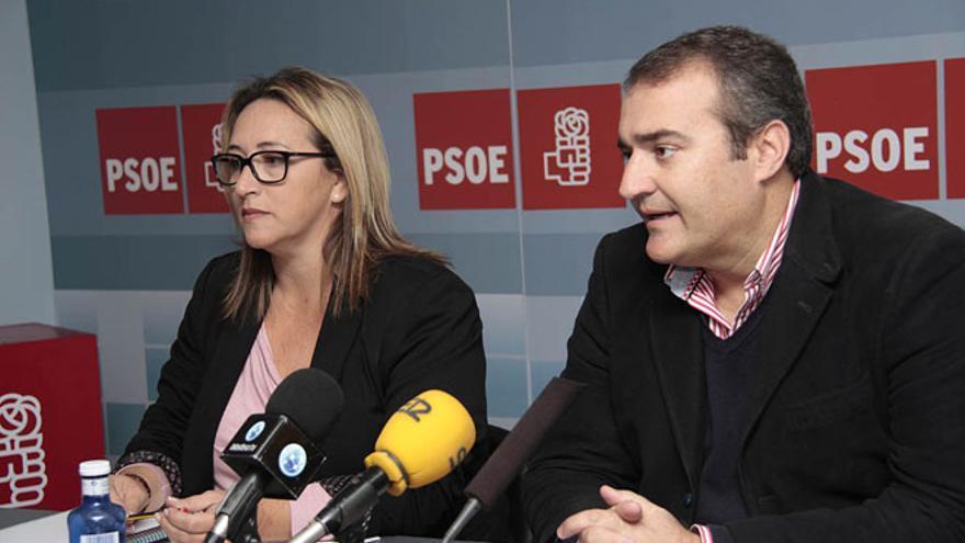 César Reyes, candidato del PSOE al Ayuntamiento de Tías / Foto: De la Cruz.