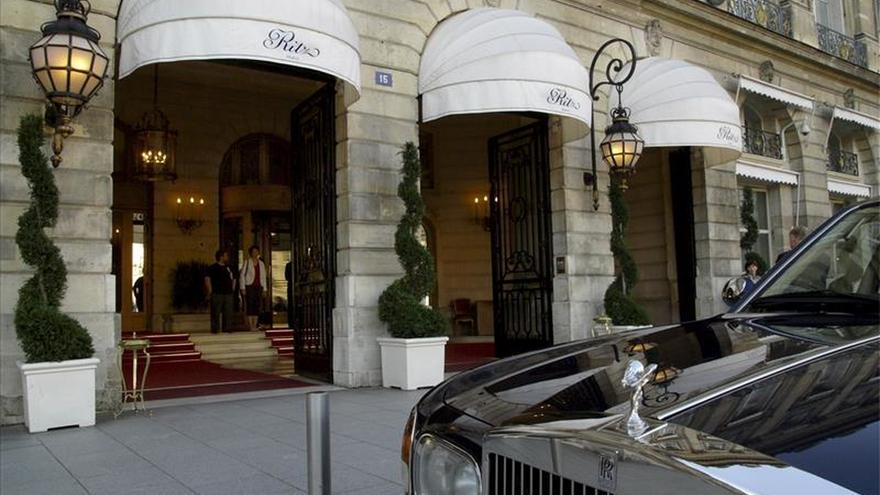 Se declara un incendio en el hotel Ritz de París