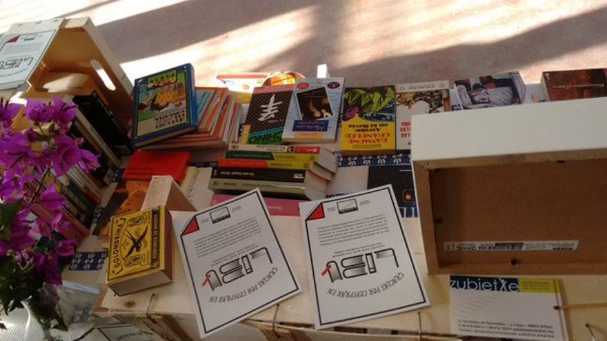 Algunos de los ejemplares donados por la ciudadanía para el proyecto Libu.