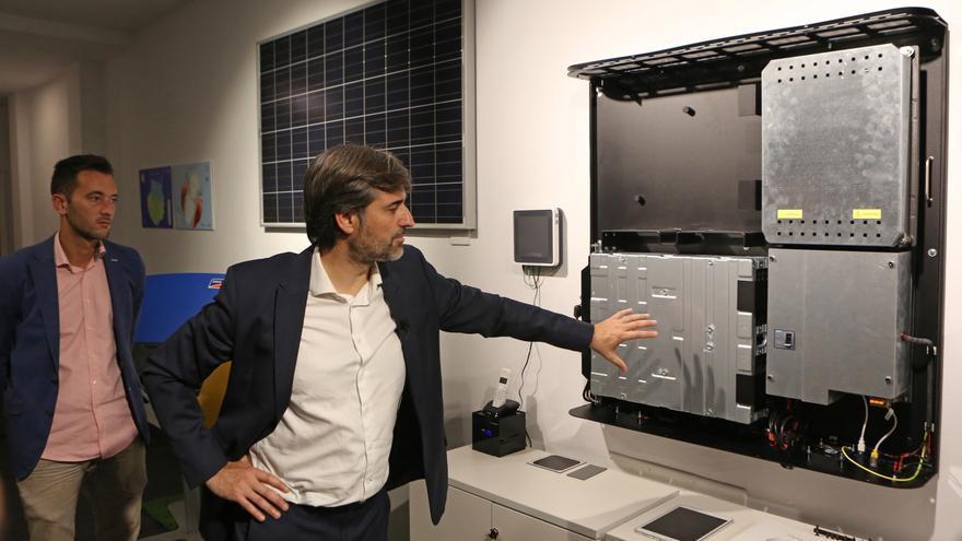 El presidente de la empresa valenciana Ampere Energy, Pablo Segura.