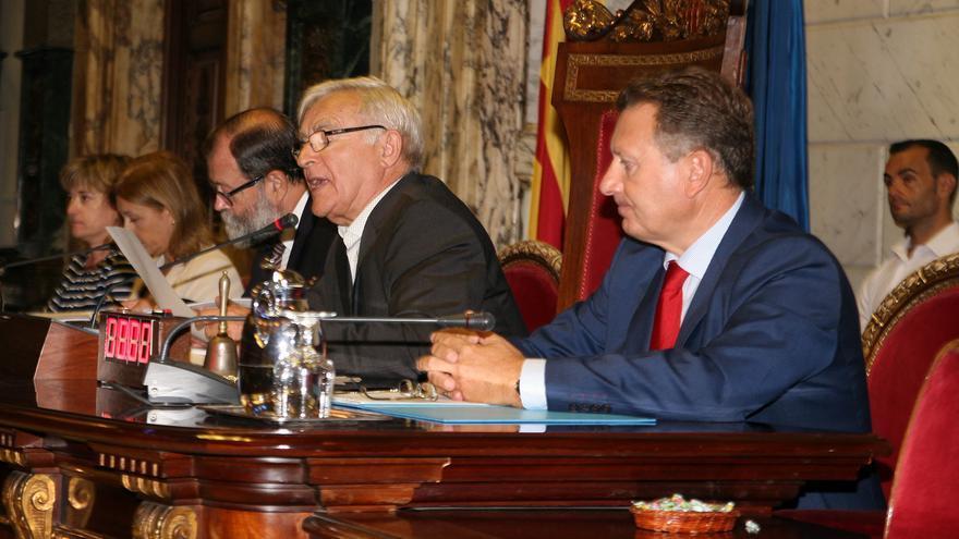 El alcalde de València, Joan Ribó, en el Debate del Estado de la Ciudad