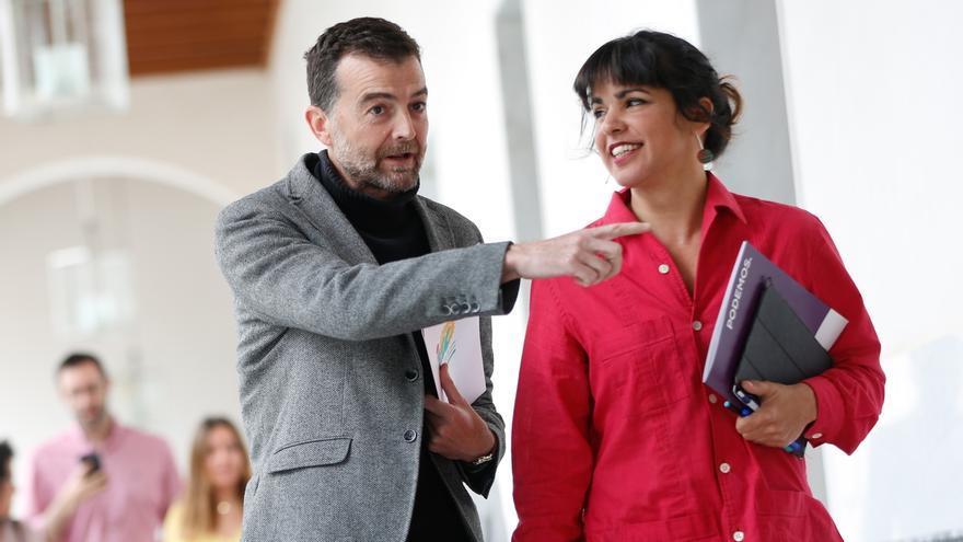 """Maíllo no descarta una """"candidatura colectiva"""" para liderar la confluencia entre Podemos e IU en Andalucía"""
