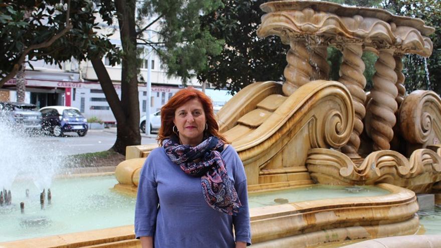 Pilar Marcos, candidata de Unidas Podemos a la alcaldía de Cartagena