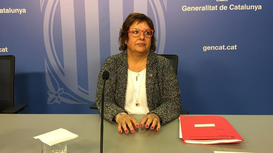 """La consellera Dolors Bassa tacha de """"vergonzosa"""" la encarcelación de Sánchez y Cuixart"""