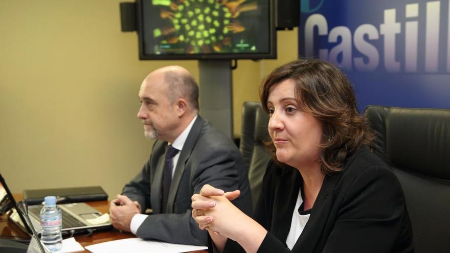 José Luis Cabezas y Patricia Franco