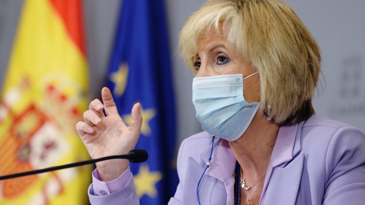 La consejera de Sanidad de la Junta de Castilla y León, Verónica Casado, en una imagen de archivo. EFE/NACHO GALLEGO