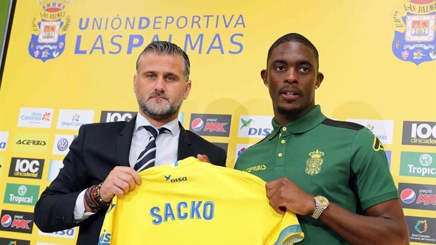 Sacko espera aportar velocidad y profundidad al juego de la UD Las Palmas