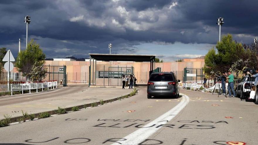 Jordi Sànchez sale de prisión en su primer permiso desde que fue encarcelado