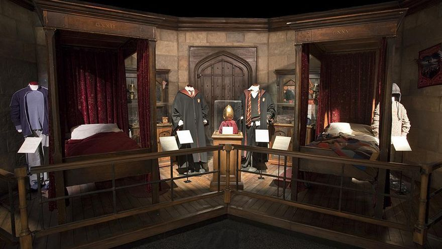 Dormitorio exposición harry potter
