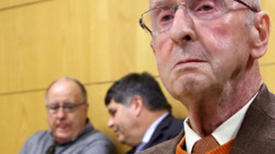 José Rodríguez Ramírez, editor y director de El Día, con Ricardo Peytaví y Andrés Chaves.