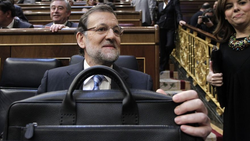Rajoy mantiene en 2015 su sueldo mensual en 6.515,42 euros, el mismo que percibía Zapatero hace cinco años