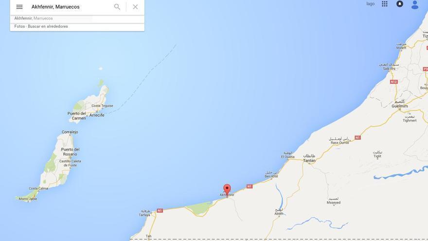 Llega a Marruecos una patera que estaba a la deriva entre Tantan y Lanzarote