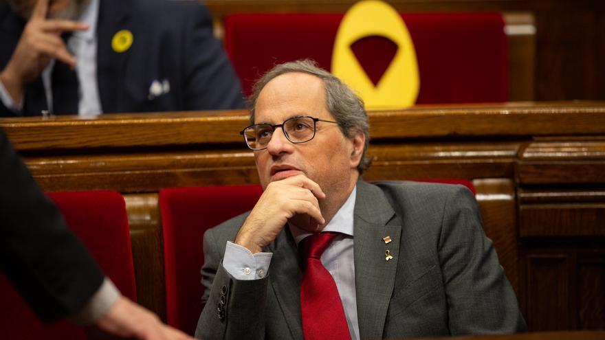 """Torra exige estar en el diálogo con Sánchez en la negociación """"entre gobiernos"""""""