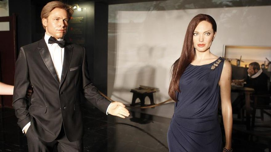 Brad Pitt y Angelina Jolie, separados en el Museo de Cera de Madrid