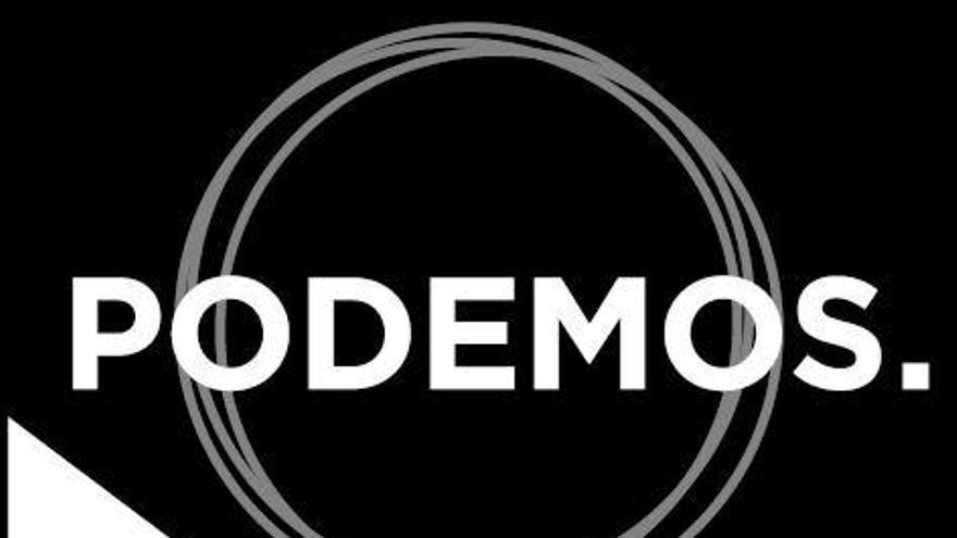 El logo de la confluencia entre Podemos, IU y Equo