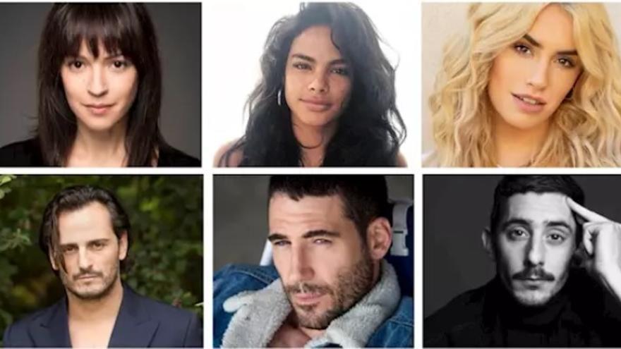 Protagonistas de 'Sky Rojo' nueva serie de Netflix