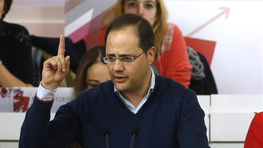 El número dos del PSOE, César Luena