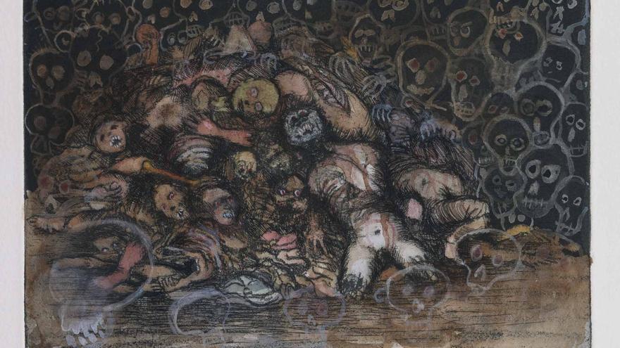 Exposición: Desastres de la guerra. Jake & Dinos Chapman en torno a Goya