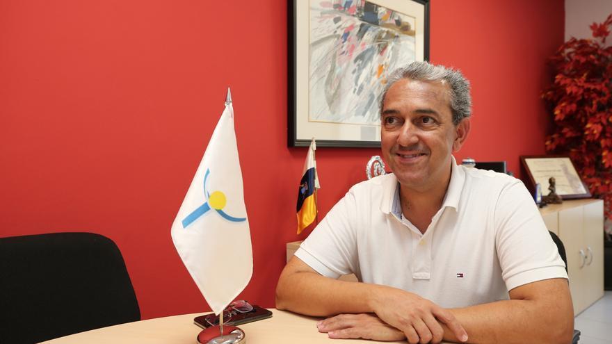 Francisco Javier Sánchez, decano-presidente del Colegio Oficial de Psicología de Las Palmas