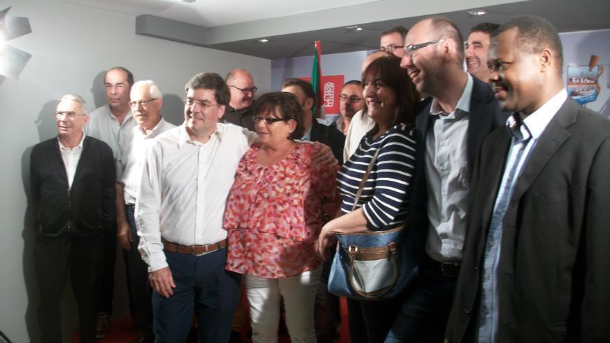 Presentación de la candidatura de Iñaki Egaña a secretario general del PSE de Bizkaia.