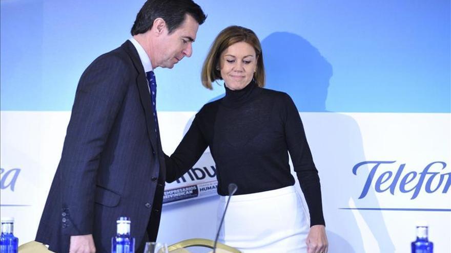 Cospedal y Soria prometen dos millones de empleos en los próximos cuatro años