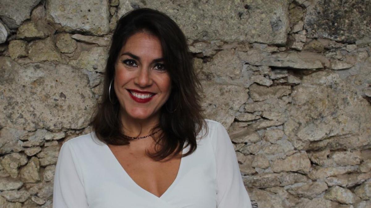 La cooperante y escritora Guayarmina Pedraza.