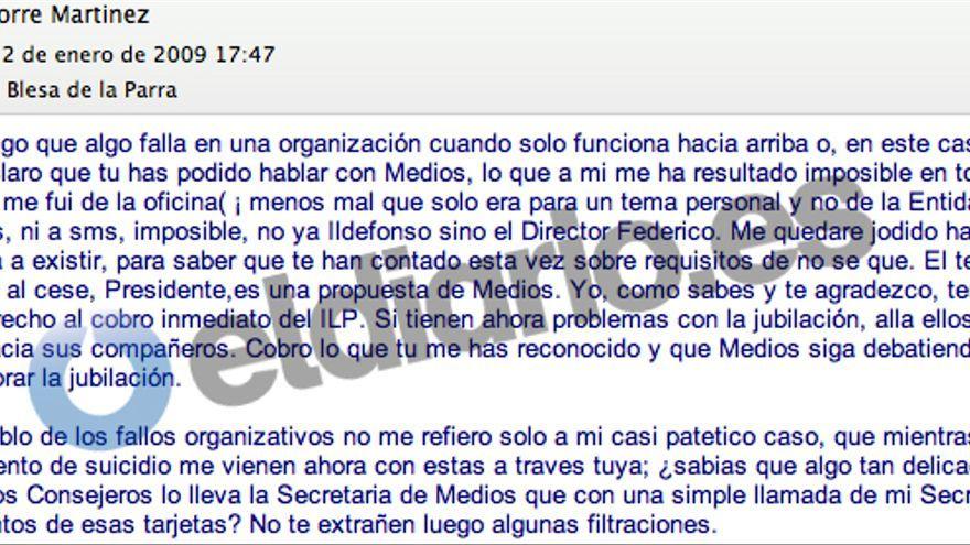los 86 consejeros y ejecutivos que disfrutaron de las tarjetas en negro de Caja Madrid Torre-advierte-Blesa-control-tarjetas_EDIIMA20141006_0758_5