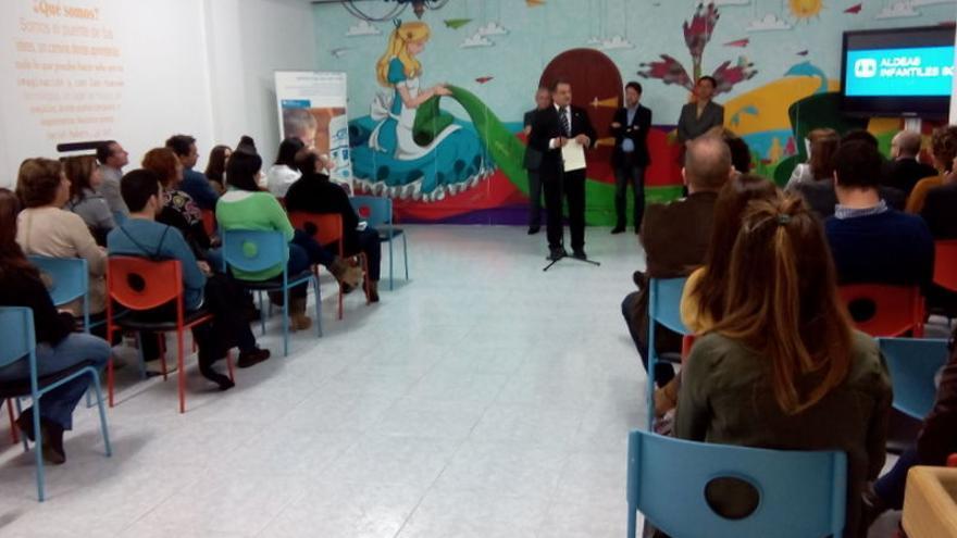 Un momento de la inauguración de 'Social Makers' en La Laguna