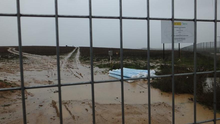 Terrenos ATC. Foto por la Plataforma contra el Cementerio Nuclear de Cuenca