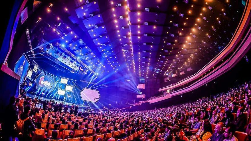 Una imagen de pasadas ediciones del evento tecnológico Webit València, previsto del 17 al 20 de junio en València.