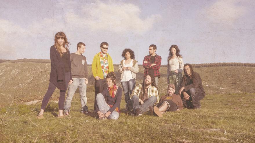 La banda guipuzcoana 'Tacumah Reggae Band'.