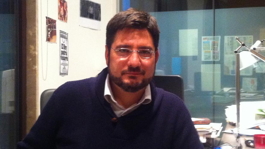 Ignacio Blanco, en las Corts Valencianes.
