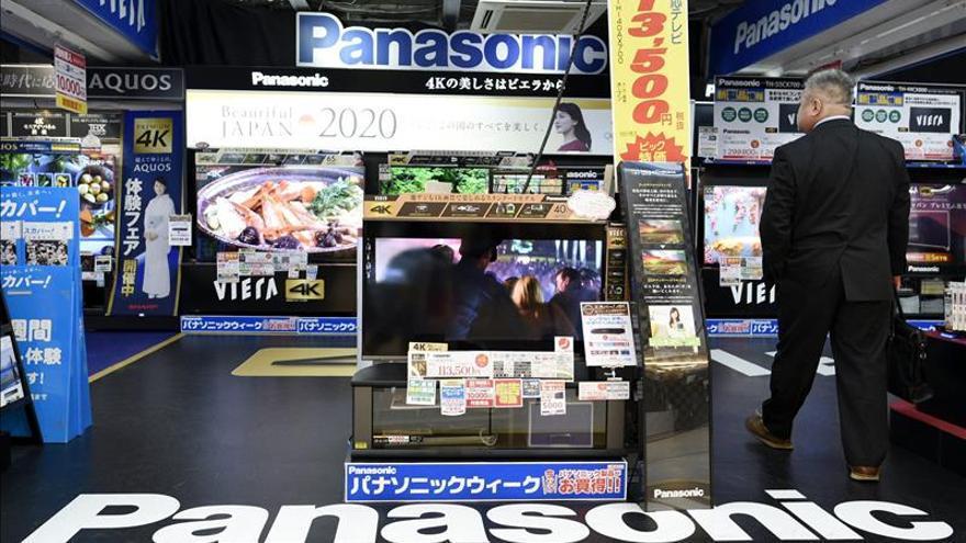 Panasonic ganó 1.222 millones de euros entre abril y diciembre, un 14 % más