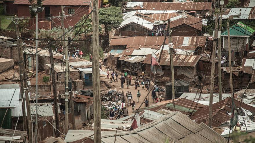 Kibera, el mayor barrio de chabolas de África, es un paradigma de la desigualdad africana y global