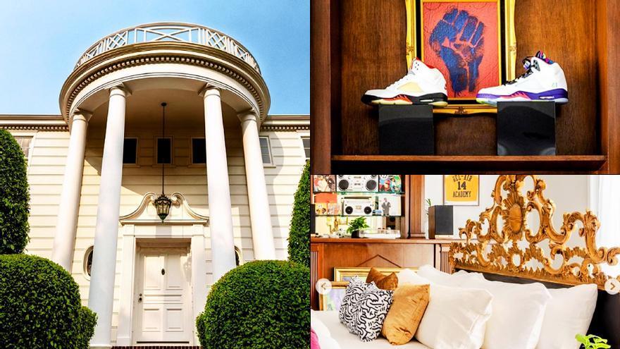 El anuncio de la mansión de 'El Príncipe de Bel Air' en Airbnb