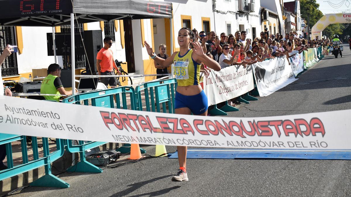 Imagen de una edición de la Media Maratón Córdoba - Almodóvar